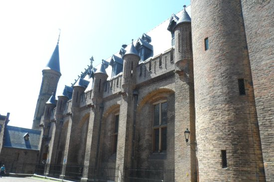 Binnenhof & Ridderzaal (Inner Court & Hall of the Knights): Ala do Binnenhof