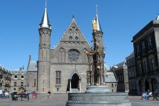 Binnenhof & Ridderzaal (Inner Court & Hall of the Knights): Ridderzaal (Salão dos Cavaleiros)