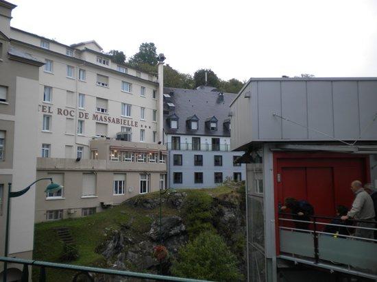 Hotel Angelic - Myriam : Ascensor acceso directo a la gruta