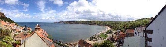 Runswick Bay: View of the bay