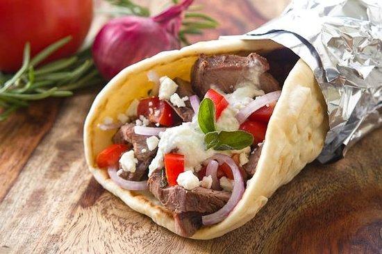 Kebab Tandoor Grill: Lamb kebab rool .