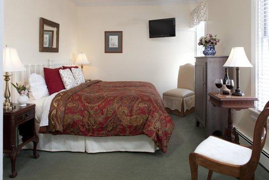 Brewster House Bed & Breakfast: Cape Elizabeth room