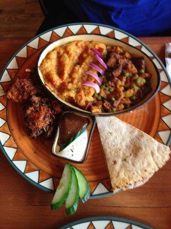 Calactus Restaurant: indian option