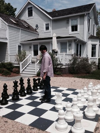 La Petite Maison: The chess board