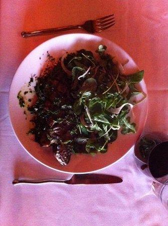 El Meze Restaurant: Trout with charmoula