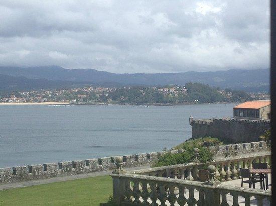 Parador de Baiona: Vistas a la ría de Vigo