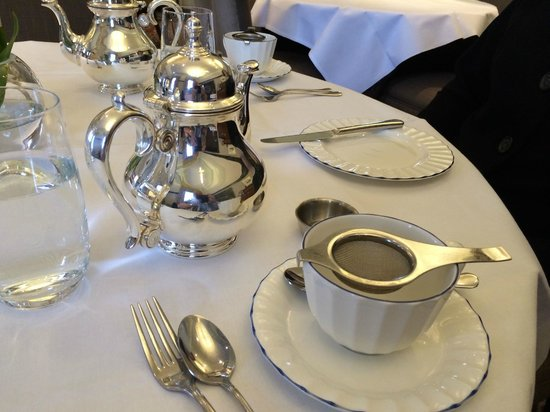 The Grand Afternoon Tea: Beautiful silver for afternoon tea