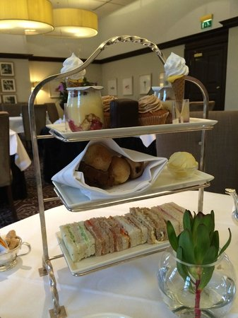 The Grand Afternoon Tea: Wonderful stand of goodies for afternoon tea