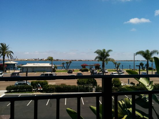 Best Western Plus Island Palms Hotel & Marina: View from our balcony