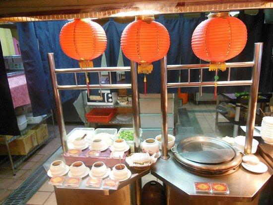 Cosmos Hotel Taipei: ラーメンコーナー