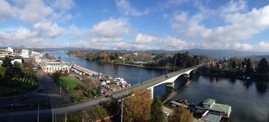 Hotel Dreams Valdivia: vista desde la terraza de la hab.