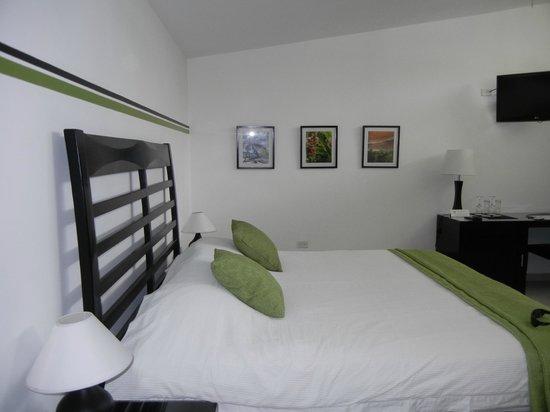 Hotel Bocas del Mar: Our sleek modern room