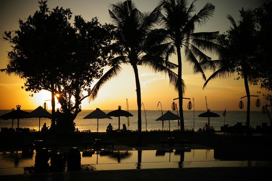 Belmond Jimbaran Puri : Sunset at Jimbaran