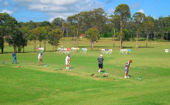 Port Macquarie Driving Range and Mini Golf: Great prizes to be one