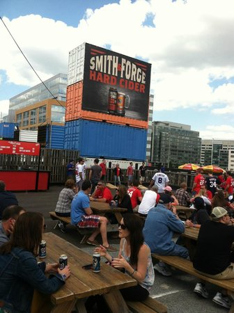 Nationals Park: The Pre-Game party