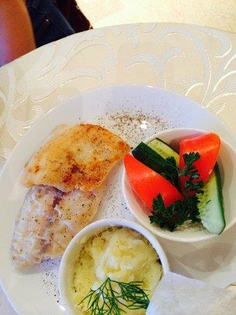 Amaks City Hotel : Одно из блюд бесплатного ужина