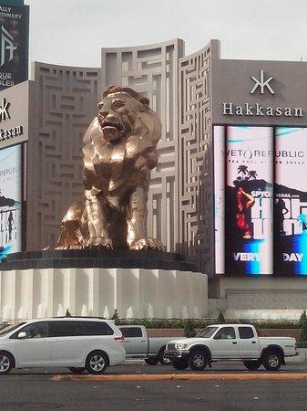 MGM Grand Hotel and Casino : Leão MGM