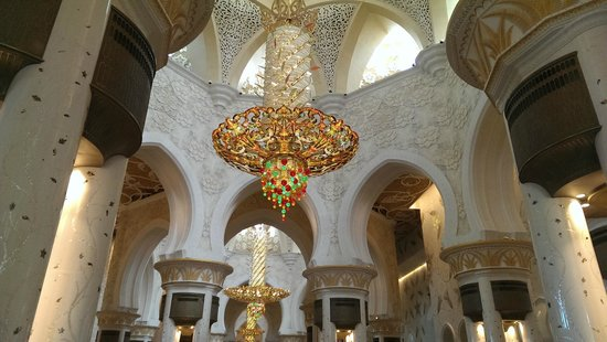 Mosquée Cheikh Zayed : Inside the Mosque