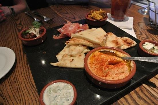 Green Valley Grill: tapas starter