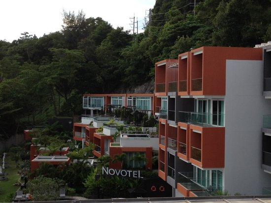 Novotel Phuket Kamala Beach : From roof top bar over to rooms
