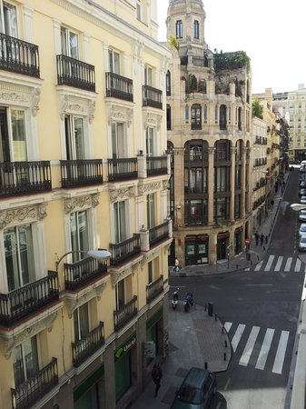 Iberostar Las Letras Gran Via : View from balcony
