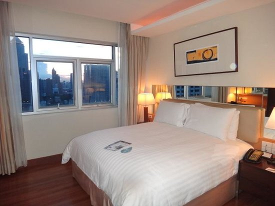 Grand Sukhumvit Hotel Bangkok: 寝室.