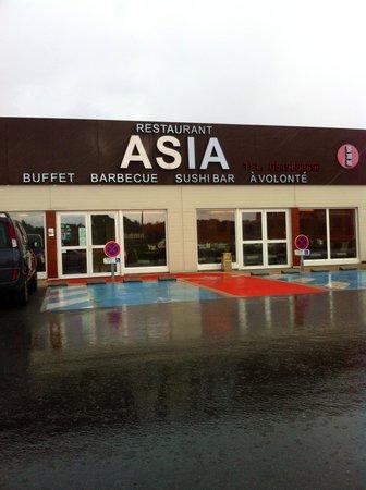 Asia Restaurant : une entrée banale pour un établissement moderne et très confortable