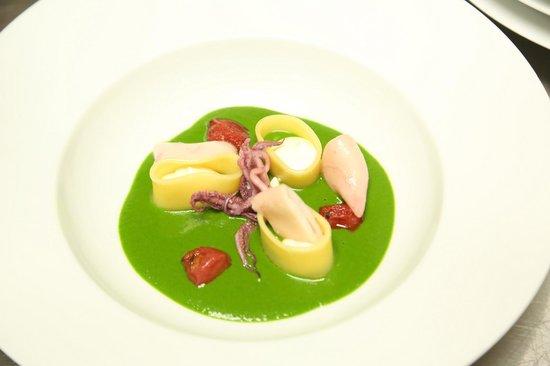 Acqua e farina italian Restaurant: Liquid salad 2014