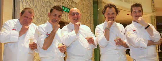 Acqua e farina italian Restaurant: Chefs in the city Shanghai