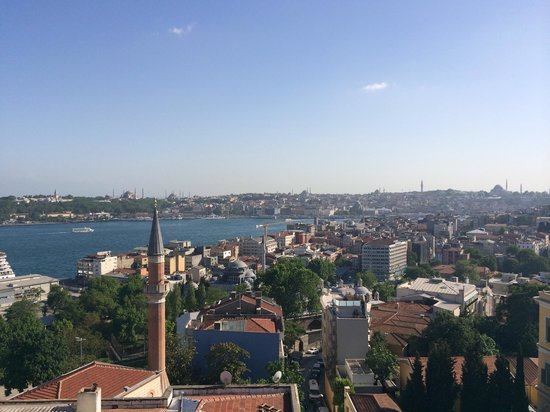 Witt Istanbul Suites: View from the roof terrace