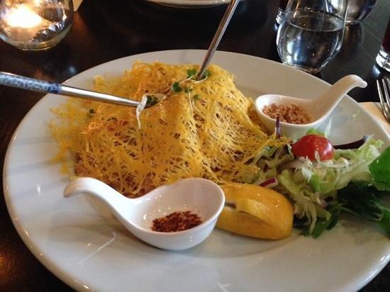 Sukhothai South Parade Leeds: chicken pad thai....amazing
