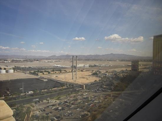 Luxor Las Vegas: view from the room.