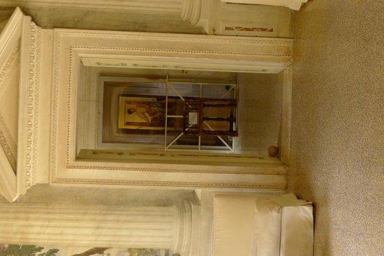 Villa Barbaro: Paolo Veronese himself (self-portrait)