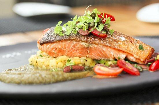 how to cook atlantic salmon in pan