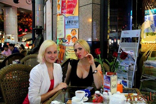 Russian girls in guangzhou