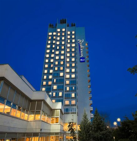 Radisson Blu Hotel, Ankara: Exterior View