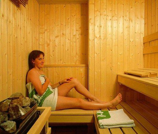 Hotel Les Cotes, Residence Loisirs et Chalets: Sauna