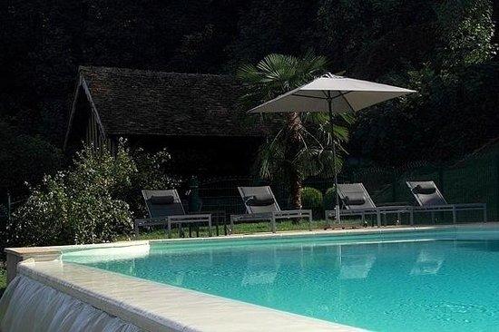 Chateau de Pray: piscine