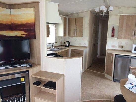 Hoburne Devon Bay: Impressed with accommodation