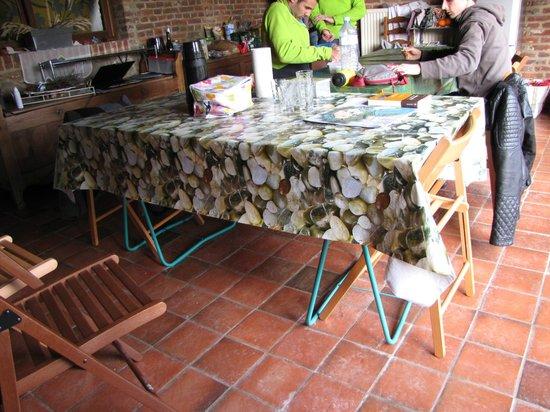La Mezzanine : Tables de salle à manger