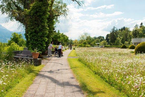 Kurhotel Sonnmatt: Park