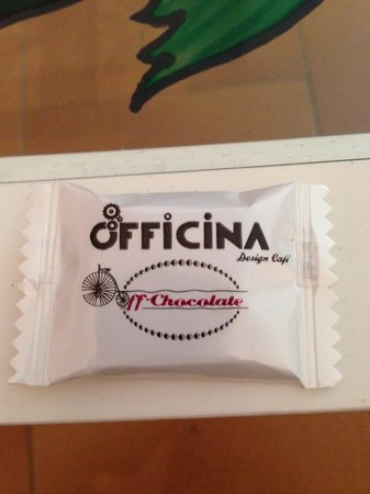 Bondeno, Italy: Off chocolate