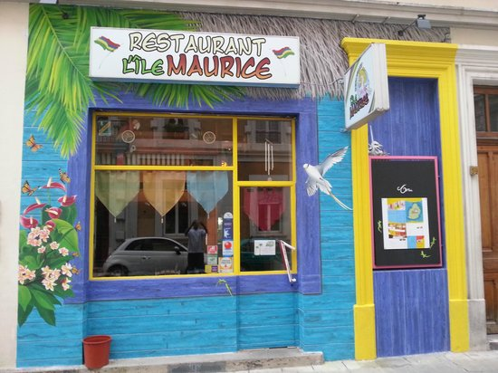 Restaurant L'Ile Maurice : Nouvelle Façade