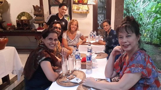Mulawarman Ubud Bali: Dinner
