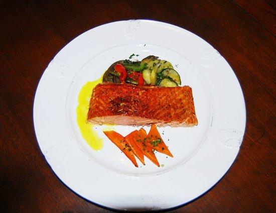 Le Lagon Hotel Restaurant : plat
