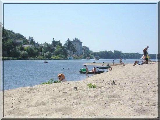La Basinierre : La plage du Confluent