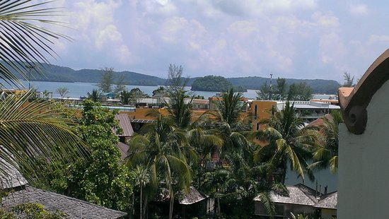Krabi La Playa Resort: View from our room on the 5th floor