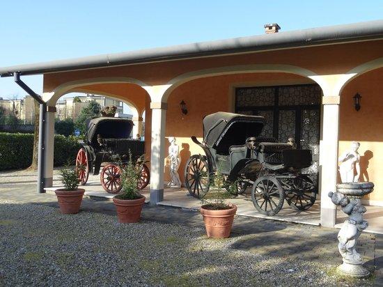 Hotel Villa Foscarini: Здание на заднем дворе