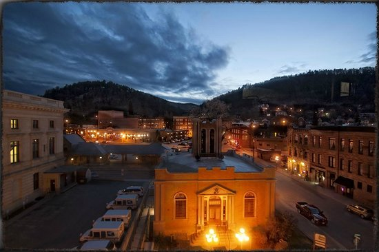 Deadwood Dick's: View from our room