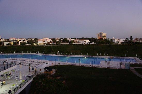 "Alvor Baia Hotel Apartamento: View from 3rd floor ""pool view"" room"